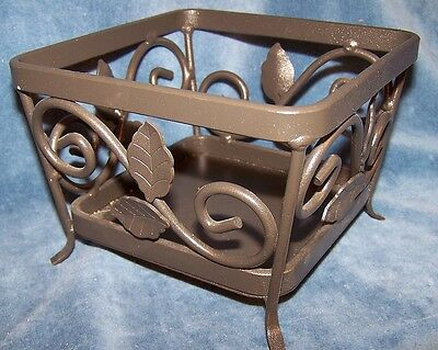 LONGABERGER Wrought Iron At Home Garden Seedling - Candle Stand Nice