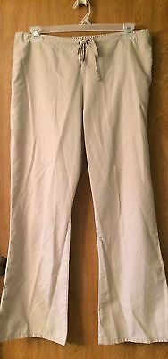 Women's Cherokee Scrub Pants Size Medium. Khaki