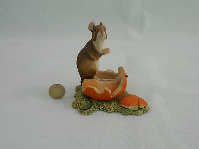 """Border fine arts.""""Mouse On An Orange"""" By Robert Ayres."""