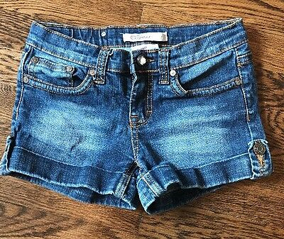 Vigoss Jeans Girls Size 12 Denim Shorts