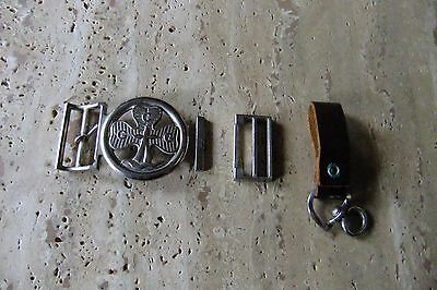 Girl Guide Buckle and Holder - Vintage, 1960s