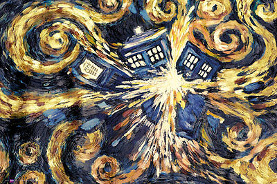 Doctor Who Exploding Tardis Maxi Poster 61x91.5cm - FP3126