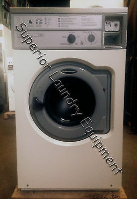 Wascomat W620, 20Lb Front Load Washer, 120V, White, Coin, Reconditioned