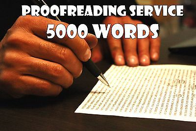 Proofreading Service for Written Content - 5000 Words - Edit Grammar & Spelling