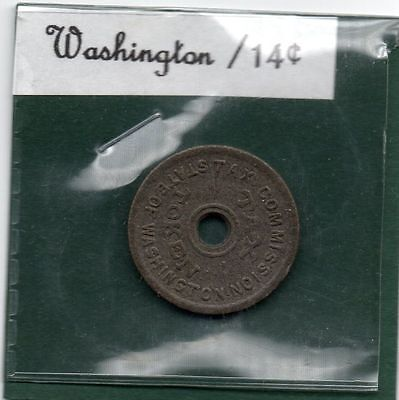 Washington State *** Tax Token *** 1941 *** TAX TOKEN