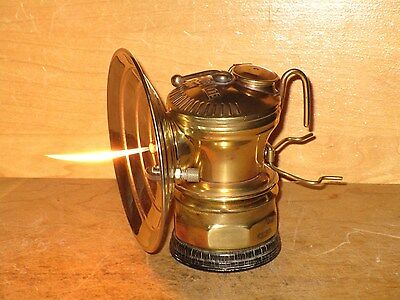 Miners AUTO-LITE CARBIDE LAMP -EXCELLENT!!