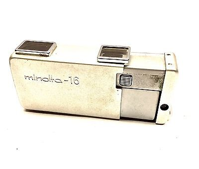 Minolta –16 Sub Miniature  Spy Camera w/ instructions