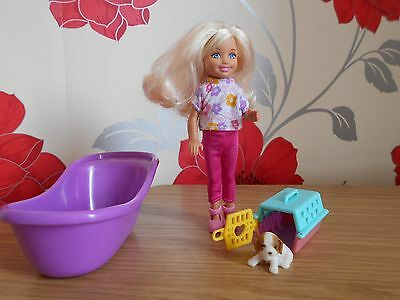 Barbie Little Sister Shelley Doll With Extras