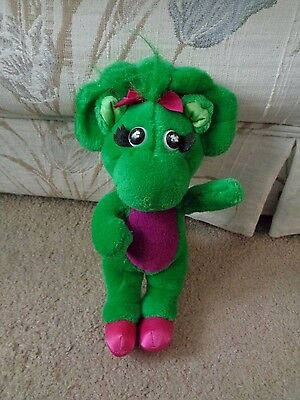 Vintage 1992 Baby Bop Barney Play Pretend Girl Character Lyons Group Dinosaur