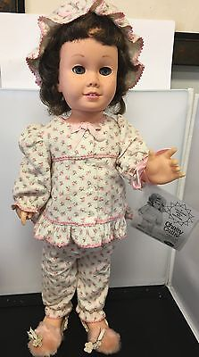 Chatty Cathy Prototype Doll #2 Brunette Soft Blue Eyes Sleepytime Working Voice