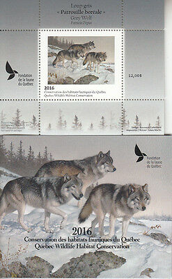 Canada MNH Quebec Conservation 2016  DQ81