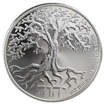 2018 Tree of Life 1 oz Silver Coin | Direct From New Zealand Mint Tube IN-STOCK!