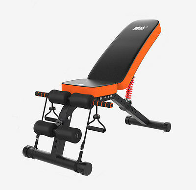 M5 Adjustable Folding Compact Utility Dumbbell Ab Workout Bench - Home Workout