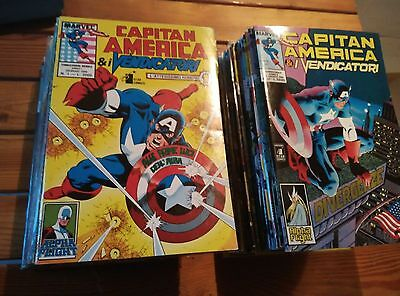 CAPITAN AMERICA & I VENDICATORI 1-50 sequenza completa Star Comics
