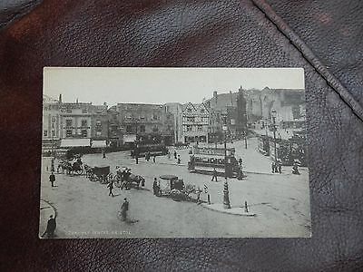 Early postcard - Tramway Centre - Bristol - nice card