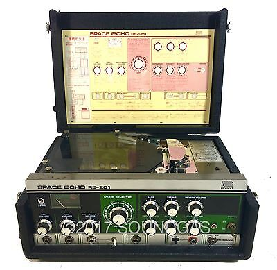 ROLAND RE-201 SPACE ECHO *Serviced & Guaranteed* Vintage Tape Delay *inc VAT*
