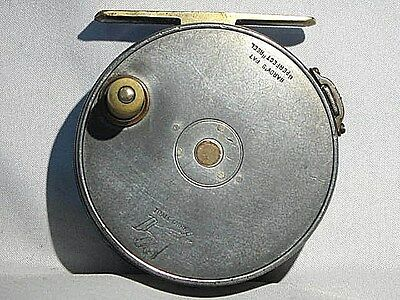"""Vintage Hardy Perfect 2 7/8"""" Rod-in-Hand Early Model 1897-8 Fly Reel"""