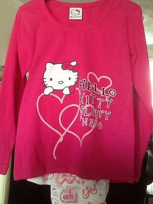 8 X Hello Kitty Pyjamas