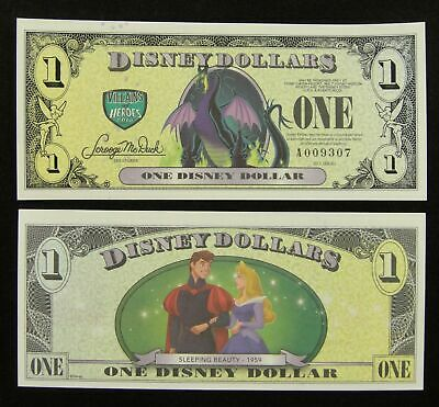 2013 $1 Little Mermaid  -  A or D Series  NEW