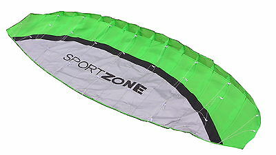 Kiteboarding Beginner Basic Training Kite 2.5 m with Flying Lines and Handles