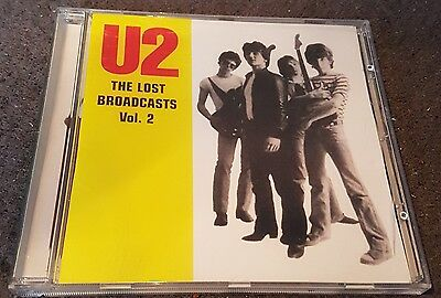 u2 -the lost broadcasts vol 2 cd ..holland 81 ...manchester  81 ..rare as