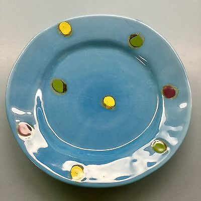 Hand-painted Decorative Italian Plate by Sara