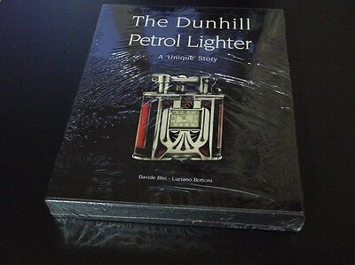 """THE DUNHILL PETROL LIGHTER """"A Unique Story"""" - Brand New- Sealed with Slipcase"""