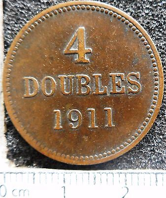 GUERNSEY - 4 Doubles 1911-H  ... (4831)
