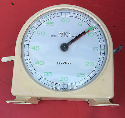 Vintage Smiths English Clock Systems Darkroom Timer Chess or Retro Cooking Timer