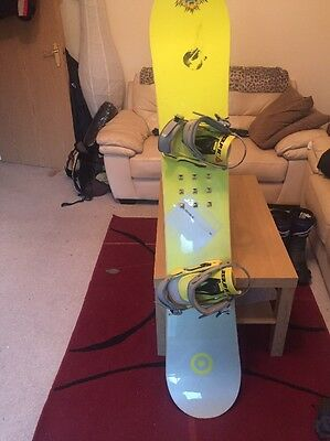 burton snowboard 163 and Large Bindings
