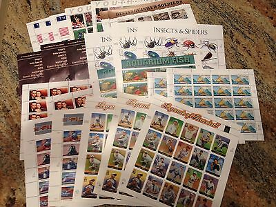US DISCOUNT POSTAGE $120.00 Mint Sheets + $30.00 Uncanceled on Paper FOR $100.00