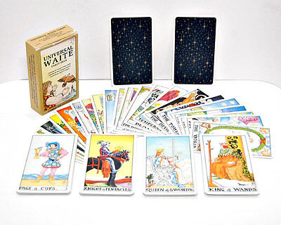 Universal Waite Tarot Deck1990 edition - BNIB manufacture sealed . LAST ONE