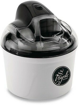 Triple Scoop 1.5 Qt. Ice Cream Frozen Yogurt Maker