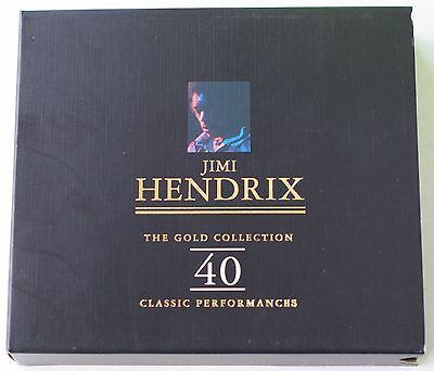 "JIMI HENDRIX - ""The gold collection"" 2 CD"