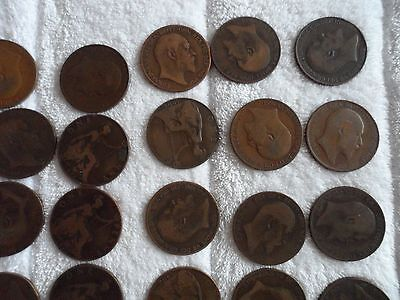 penny uk sterling edward Vll collection pennies