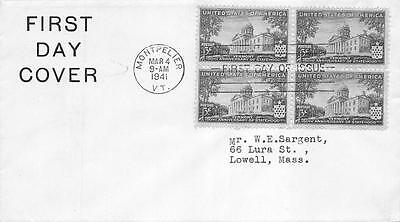 903 3c Vermont Statehood, First Day Cover Cachet [D232171]