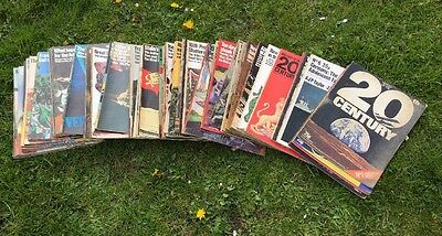History of the 20th century magazine complete set,95 copies Out Of 96 80 Missing