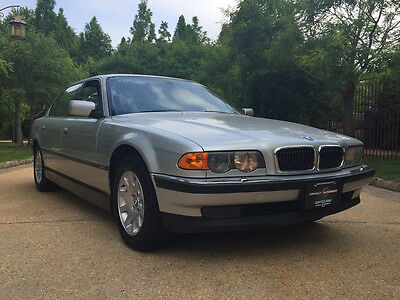 2000 BMW 7-Series Base Sedan 4-Door 740il low mile 75k free shipping warranty 2 owner luxury collector cheap
