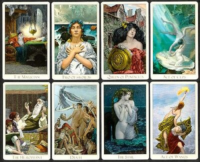 Authentic Victorian Romantic Tarot Deck - SIGNED 2012 edition - BRAND NEW