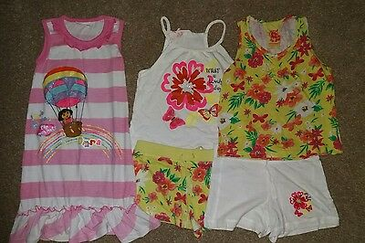 Girls Summer Shorts set Age 5 - 6