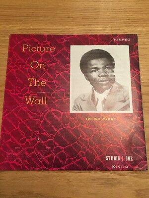 Freddie McKay Pictures On The Wall Studio One LP