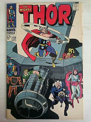 The Mighty Thor #156 FN+