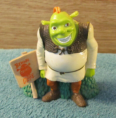 SHREK OGRE Ornament Figurine Rearview Mirror Hanger
