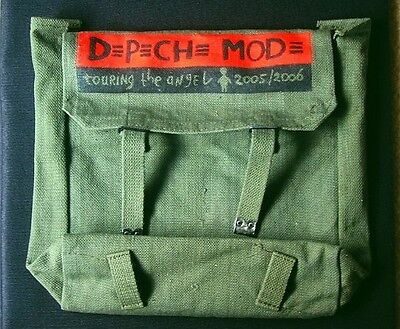 DEPECHE MODE Official Touring The Angel 2006 Army Bag Tour Tasche Vintage