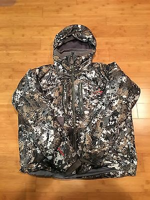 Pre-Owned Sitka Incinerator Jacket Size XL