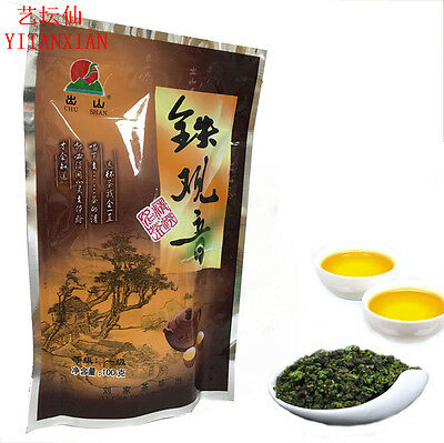 Super 100g Organic Chinese Anxi Tea Tieguanyin Oolong Green Tea slimming