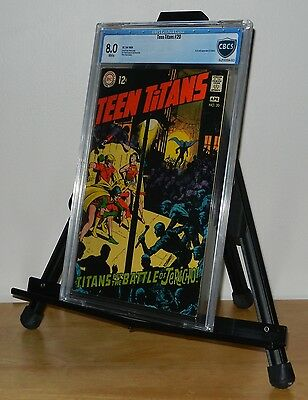 Teen Titans #20 CBCS 8.0 1st Appearance of Joshua (Not CGC)