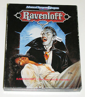 AD&D 2nd. Ed. Ravenloft Grundbox von TSR in deutscher Sprache - Rabenhorst