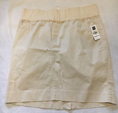 New Gap Stretch Maternity Skirt size 14 with demi panel