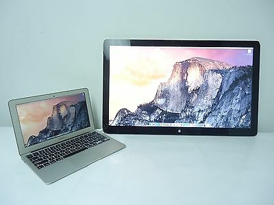 """APPLE A1407 Thunderbolt Display 27"""" A1407 Widescreen LCD Monitor"""